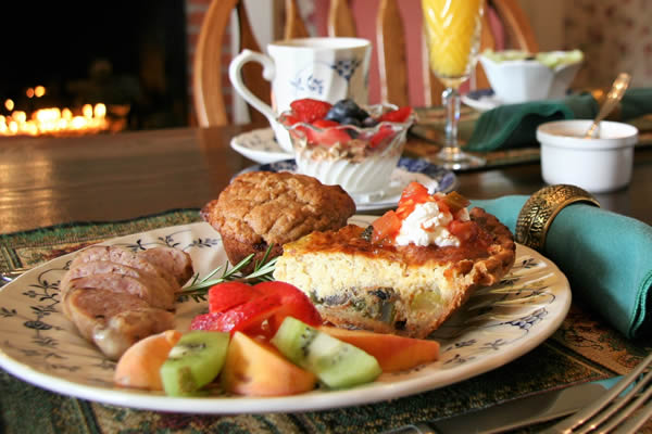 breakfast at the raford inn